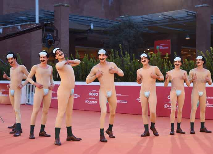 'Borat' Sequel Premiere Features A Dozen Borats In Monokinis!
