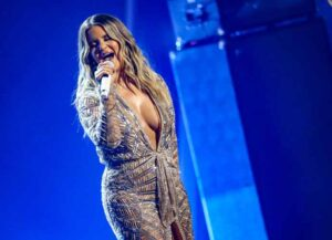 NASHVILLE, TENNESSEE - NOVEMBER 11: Maren Morris performs onstage during the The 54th Annual CMA Awards at Nashville's Music City Center on Wednesday, November 11, 2020 in Nashville, Tennessee. (Image: Getty)