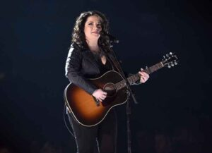 LAS VEGAS, NEVADA - APRIL 07: Ashley McBryde onstage during the 54th Academy Of Country Music Awards at MGM Grand Garden Arena on April 07, 2019 in Las Vegas, Nevada.