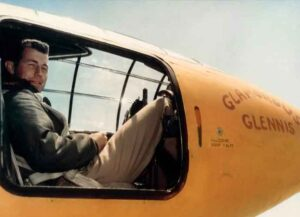 Chuck Yeager in his X-1
