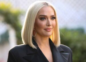 "UNIVERSAL CITY, CALIFORNIA - NOVEMBER 11: Reality TV Personality Erika Jayne visits Hallmark Channel's ""Home & Family"" at Universal Studios Hollywood on November 11, 2019 in Universal City, California."