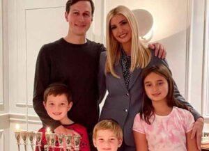Ivanka Trump Shares Rare Family Photo Celebrating Chanukah With Kids Arabella, Joseph &Theodore Kushner