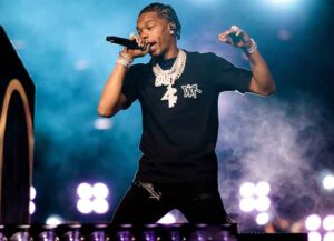 """MORRISON, COLORADO - SEPTEMBER 02: Lil Baby performs onstage during Day 2 of """"Red Rocks Unpaused"""" 3-Day Music Festival presented by Visible at Red Rocks Amphitheatre on September 02, 2020 in Morrison, Colorado"""