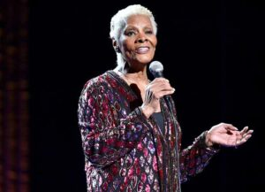 """NEW YORK, NY - APRIL 19: Dionne Warwick performs onstage during the """"Clive Davis: The Soundtrack of Our Lives"""" Premiere Concert during the 2017 Tribeca Film Festival at Radio City Music Hall on April 19, 2017 in New York City."""