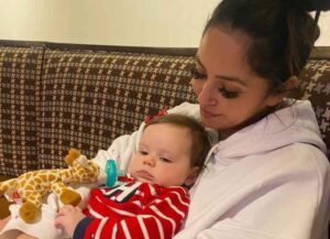 Vanessa Bryant Cuddles Goddaughter Named After Her Late Daughter Gigi On Anniversary Crash (Photo: Instagram)