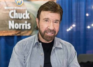 PHILADELPHIA, PA - JUNE 03: Martial artist/actor Chuck Norris make his Wizard World Comic Con debut during Wizard World Comic Con Philadelphia 2017 - Day 3 at Pennsylvania Convention Center on June 3, 2017 in Philadelphia, Pennsylvania. (Photo by Gilbert Carrasquillo/Getty Images)