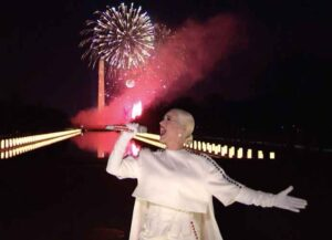 """WATCH: Katy Perry Performs """"Firework"""" Finale For 'Celebrating America' Inaugural Concert"""
