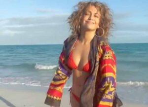 Jennifer Lopez Stuns In Red Bikini To Welcome In 2021 (Photo: Jennifer Lopez/Instagram)