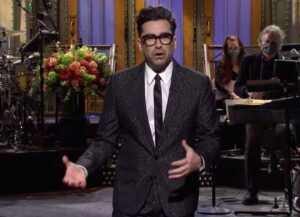 'Schitt's Creek'StarDan Levy Hosts 'Saturday Night Live' (Image: NBC)