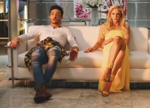 VIDEO EXCLUSIVE: Ed Westwick & Louise Linton Reveal How They Created Their Sexual Chemistry In 'Me, You, Madness'
