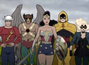 'Justice Society: World War II' (Image courtesy of Warner Bros.)