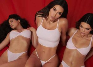 Kardashian-Jenner Sisters Pose For New SKIMS Launch (Image: Instagram)