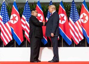 Kim Jong-un and Donald Trump (Image: White House)