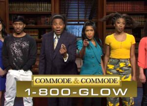 'SNL' Gives Its Take On 'The Gorilla Glue Girl' (Image: NBC)
