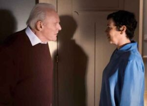 Anthony Hopkins and Olivia Coleman in 'The Father' (Image: Lionsgate)