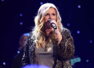BURBANK, CALIFORNIA - SEPTEMBER 05: Trisha Yearwood performs live on stage at iHeartCountry Album Release Party with Trisha Yearwood celebrating the launch of Every Girl at iHeartRadio Theater on September 05, 2019 in Burbank, California. (Photo by Jesse Grant/Getty Images for iHeartMedia)