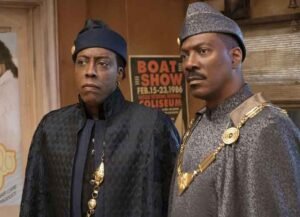 Eddie Murphy in 'Coming 2 America' (Image courtesy of Amazon)