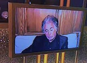 Al Pacino Caught Falling Asleep During The Golden Globes (Image: NBC)