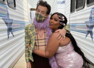 Lizzo Celebrates Harry Styles' First Grammy Win (Image: Getty)