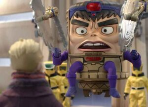 Scene from M.O.D.O.K. (Image: Marvel)