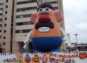 Mr. Potato Head Celebrates a birthday in Lima, Peru (Image: Wikimedia)