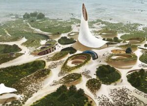 SEED vision for Burning Man –a symbiotic coevolution by Samantha Katz, Woody Nitibhon, Henry O'Donnell, Lola Lafia, Eric Baczuk, John Hilmes, Max Schwitalla, and Colin O'Donnell