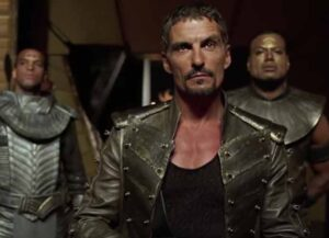 Cliff Simon in 'Stargate SG-1' (Image: MGM)