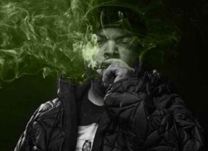 Ice Cube promotes his legal weed company on Twitter (Image: Twitter)