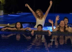 Jennifer Lopez in the Dominican Republic (Image: Instagram)