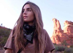 Lilly Collins in Sedona, Arizona (Image: Instagram)