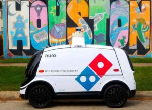 Domino's Pizza Launches Self-Driving Robot-Car To Deliver Pizzas In Houston (Image: Dominos)