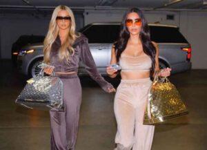 Paris Hilton & Kim Kardashian Reunite On Final Season Of 'Keeping Up With The Kardashians' (Image: Instagram)