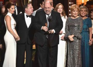 "NEW YORK, NY - JUNE 11: Producer Scott Rudin and the cast of Hello, Dolly!"" accept the award for Best Revival of a Musical onstage during the 2017 Tony Awards at Radio City Music Hall on June 11, 2017 in New York City. (Photo by Theo Wargo/Getty Images for Tony Awards Productions)"