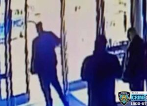 2 NYC Doormen Fired After Failing To Help Asian Woman Attacked Outside Their Building (Image: Crime Stoppers)