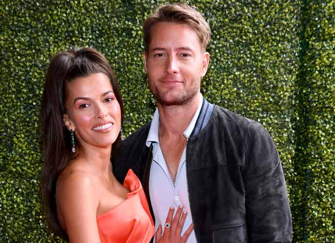 Justin Hartley & Sofia Pernas Make First Red Carpet Appearance As Couple