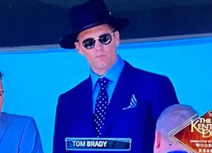 Tom Brady mocked for Kentucky Derby outfit (Image: YouTube)