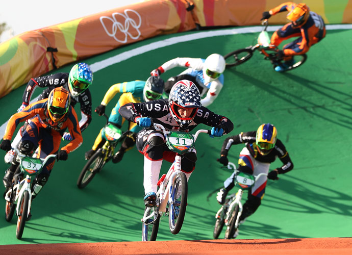 VIDEO EXCLUSIVE: US Olympic BMX Racer Connor Fields Says Being From West Coast Is A 'Huge' Advantage