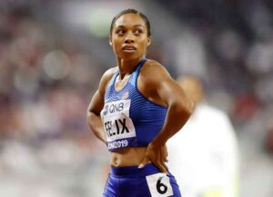 VIDEO: Olympic Track & Field Star Allyson Felix Reflects On Importance Of Her Daughter Camryn