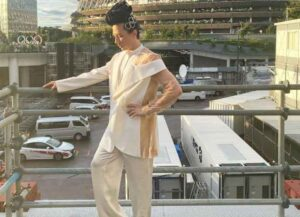 Johnny Weir at Tokyo Olympics (Image: Instagram)