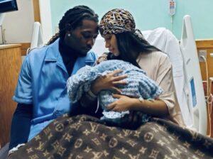 Cardi B & Offset Welcome Baby Boy (Image: Instagram)