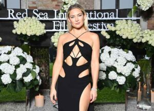VENICE, ITALY - SEPTEMBER 04: Kate Hudson attends the Celebration of Women in Cinema Gala hosted by The Red Sea Film Festival during the 78th Venice International Film Festival on September 04, 2021 in Venice, Italy. (Photo by Daniele Venturelli/Getty Images for The Red Sea Film Festival)