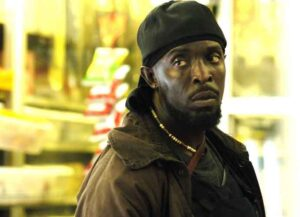 Michael K. Williams in 'The Wire' (Image: HBO)