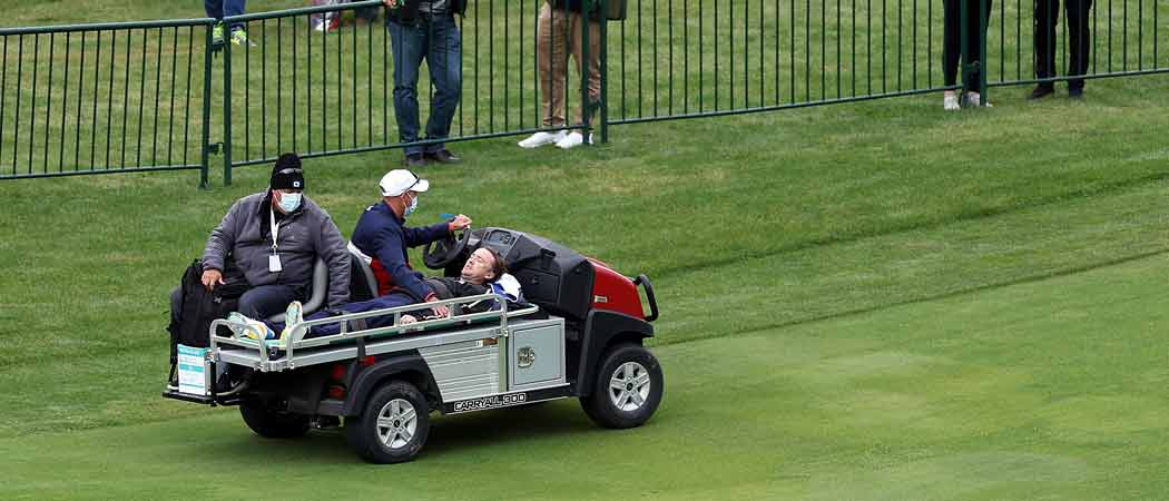 'Harry Potter' Star Tom Felton Collapses During Ryder Cup