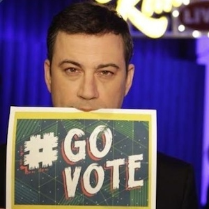 Jimmy Kimmel, Kim Kardashian And Rob Lowe Want Fans To Vote In Midterm Elections