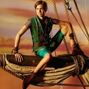 Allison Williams Debuts First Photo As Peter Pan