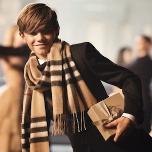 Romeo Beckham Stars In Burberry's New Winter 2014 Campaign