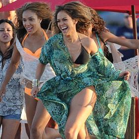 Jennifer Lopez Films 'Live It Up' Music Video, Gunshots Fired During On Set Interview