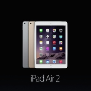 Apple Unveils iPad Mini 3 And iPad Air 2 After Photos Leak Online