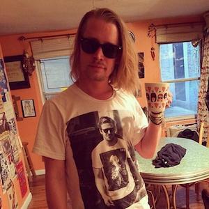 Macaulay Culkin Wears T-Shirt Featuring Picture Of Ryan Gosling Wearing Macaulay Culkin T-Shirt, Sparks Photoshopped Memes