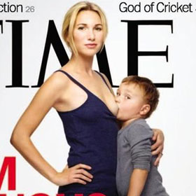 FUNNY: Tweets Milked From Time Magazine's Breast-feeding Cover